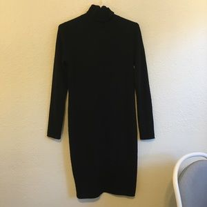 Magaschoni long sleeve turtleneck sweater dress